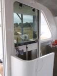 Window with accuator