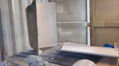Bathroom cupboard inserts & doors