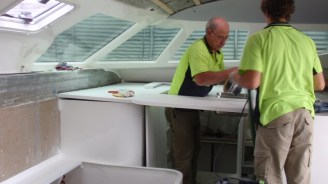 Tony our benchtop man at work