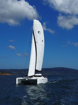 Sailing on Port Phillip