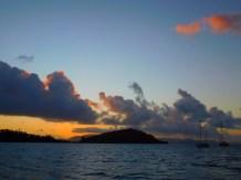 Same location at sunset.