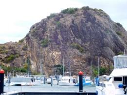 The stunning backdrop at Keppel Bay Marina.