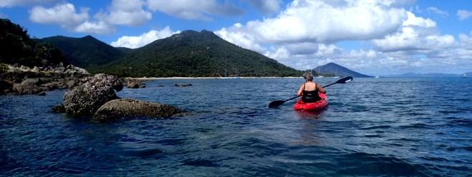 We kayaked around the infamous Shag Islet