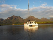 One of the many moods of Hinchinbrook Island.