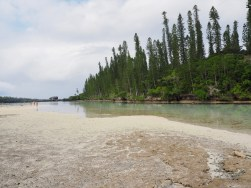 La Piscine Naturelle near the Le Meridan Resort. We had a swim.