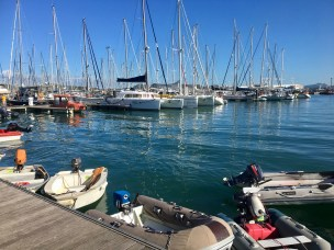 Port Moselle marina. Not easy to book in to, but a great location.