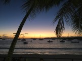 Our last sunset from the Kuto beach