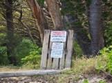 Not so friendly locals? Hmmm ... it's written in English!