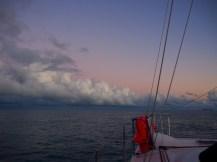 Beautiful pastel colours at sunrise