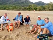 Drinks ashore!