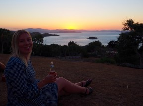 Our last sunset with Abbey on One Tree Hill