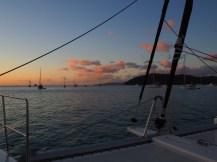 Sunset tonight in Cid