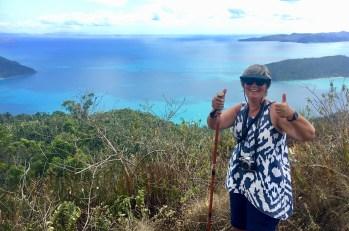 Conquering the Whitsunday Peak walk
