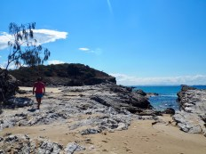 A walk to Butterfish Bay