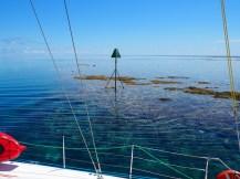 Entering the Fitzroy lagoon ... stunning!