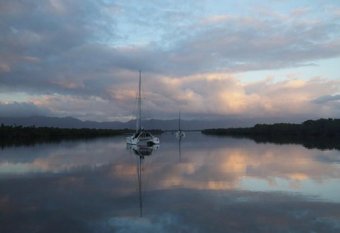 Sunrise ... Waterfront & Skedaddle