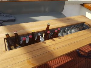 bierproeven op het water van Den Bosch