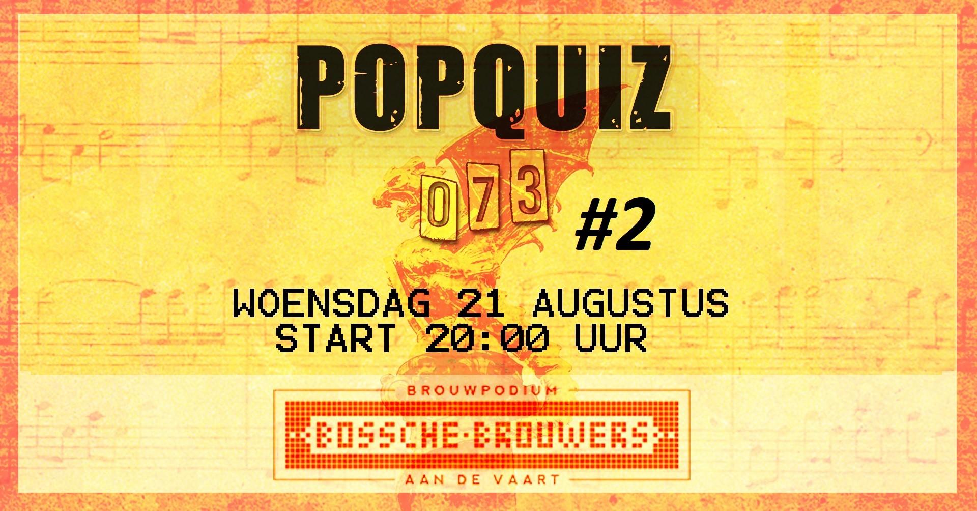 popquiz Den Bosch