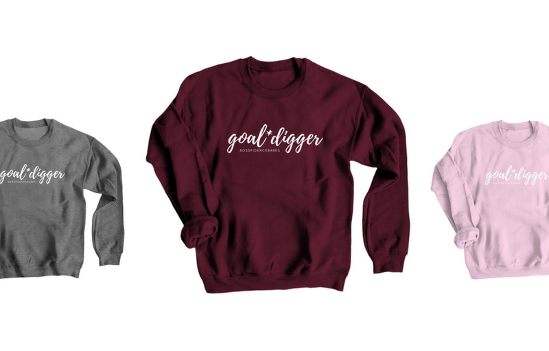 SHOP | Goal*Digger Sweatshirt