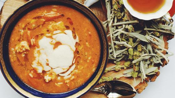 Crockpot Chicken Tortilla Soup With Kale