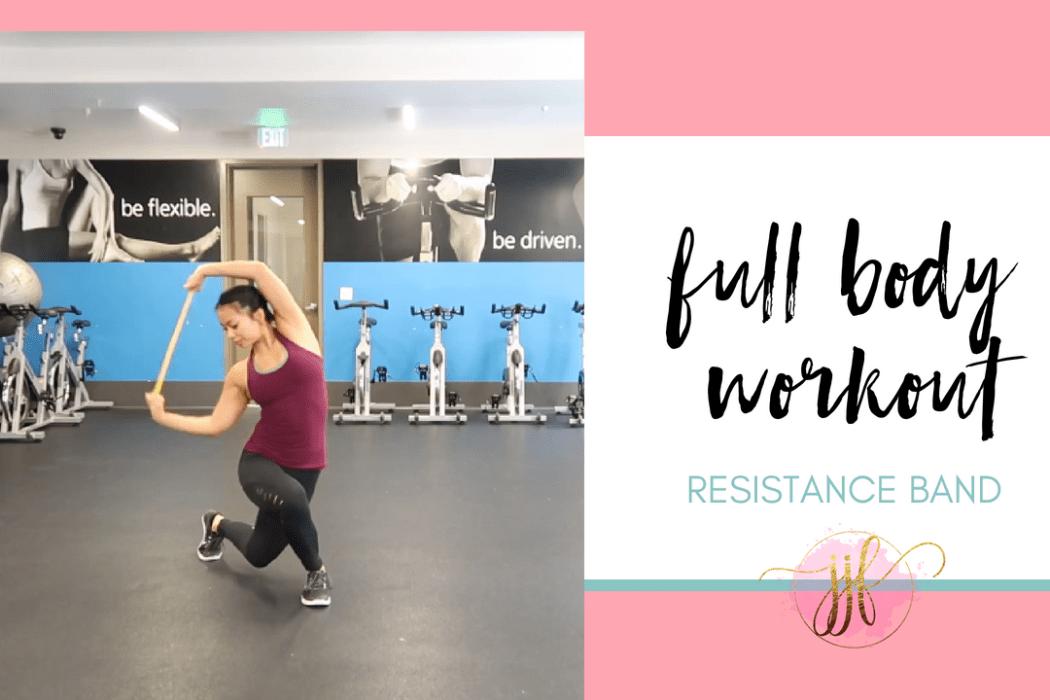 Resistance Band Full Body Workout via Jenny J Fitness