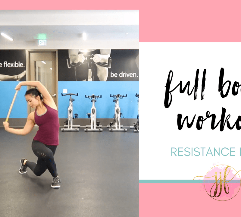 Resistance Band Full Body Workout via Jenny J Fitness
