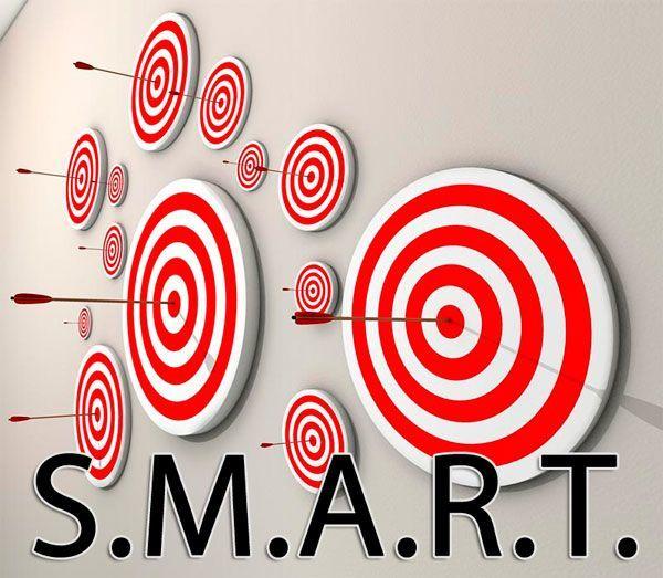 как поставить цель по smart