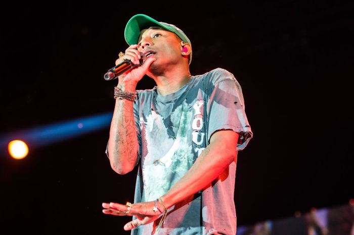 Pharrell Williams live in concert