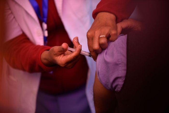 COVID-19 Vaccination Campaign Starts In Nepal