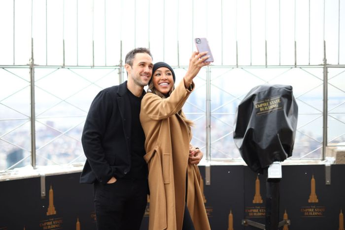 Tayshia Adams And Zac Clark Celebrate Their Love At The Empire State Building
