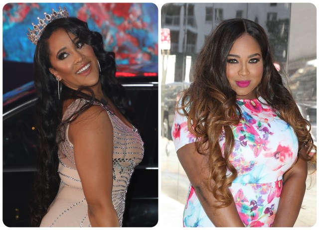 Natalie Nunn and Tanisha Thomas of Bad Girls Club