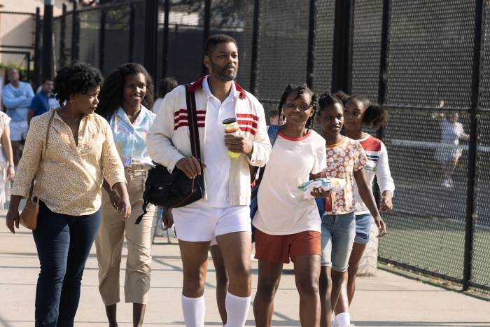 "Will Smith, Demi Singleton and Saniyya Sidney star in ""King Richard"""