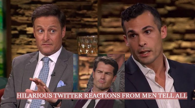 Hilarious Twitter Reactions From The Men Tell All