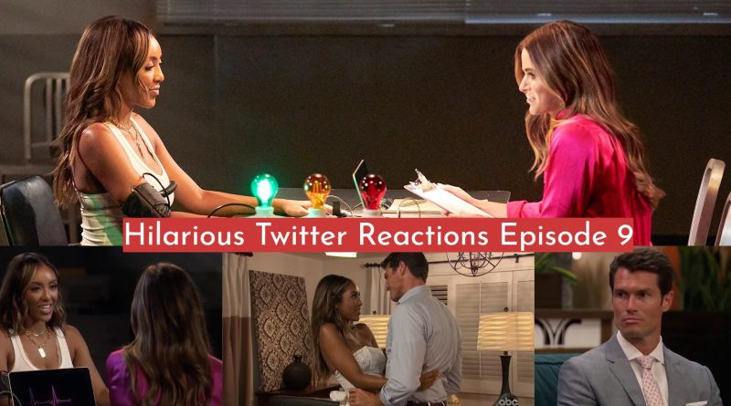 Hilarious Twitter Reactions From Episode 9 of The Bachelorette – Tayshia