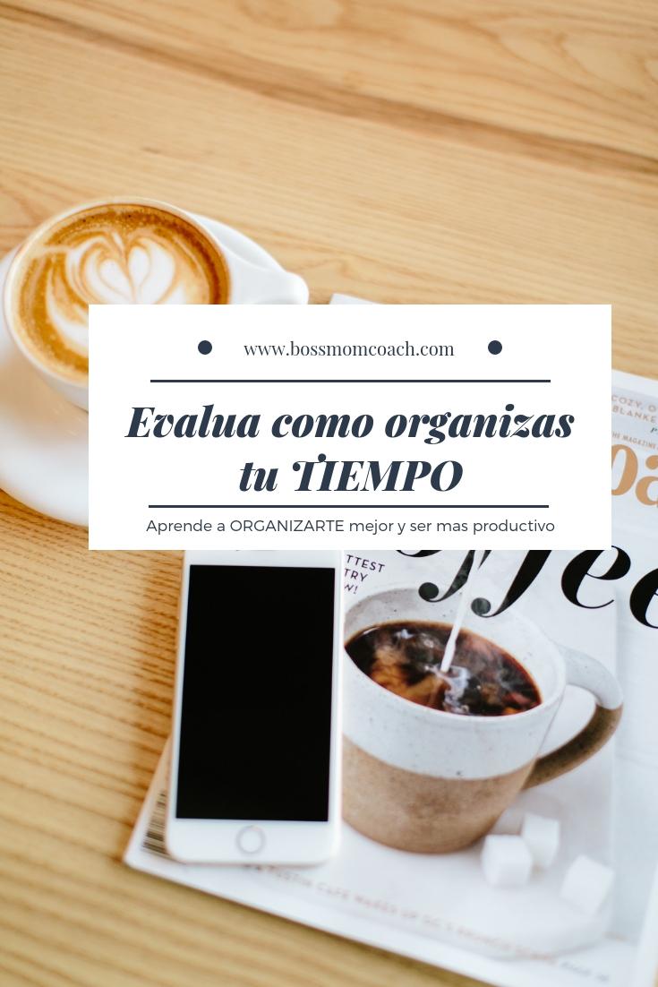blog organiza tu tiempo