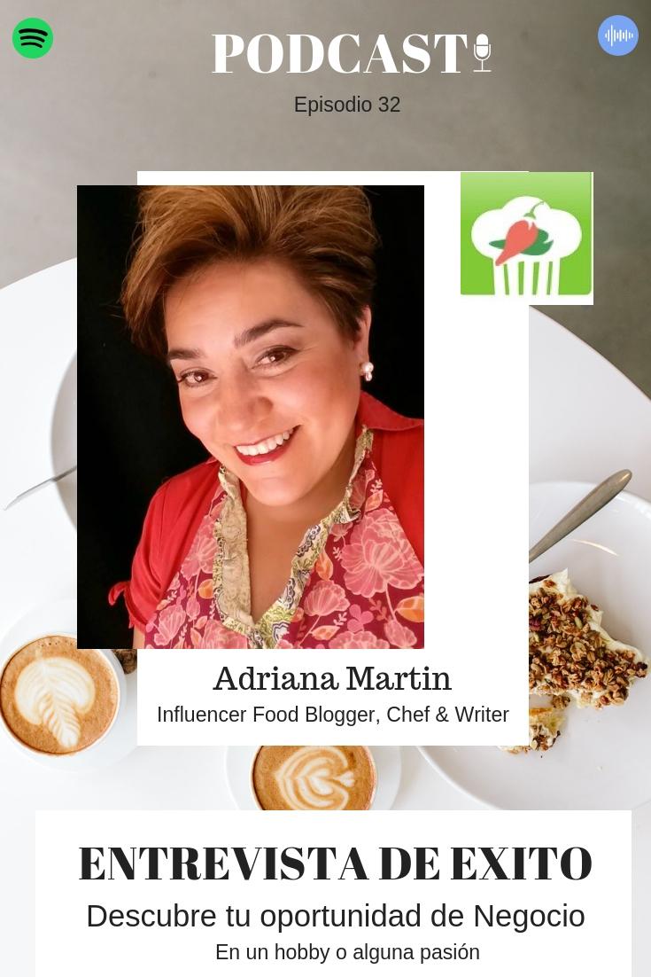 Adriana Martin podcast