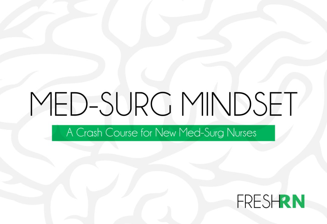 Med-Surg Mindset Cover - EVERGREEN