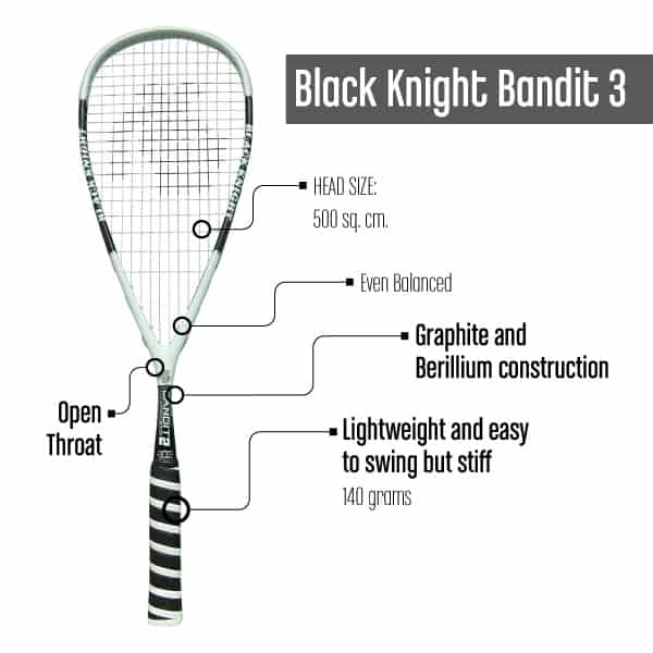 Squash Racquet under $100_BlackKnightBandit3