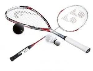 BadmintonVSSquashEquipment