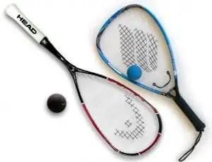 RacketballVSSquashEquipment