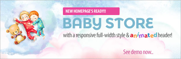 Baby Store Comming Soon opencart fashion bag store - babycoming - Opencart Fashion Bag Store — Parallax