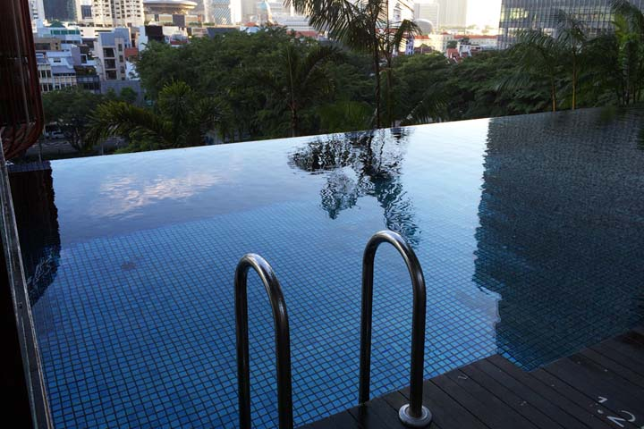 Beautiful parkroyal on pickering a special place to stay in singapore for Park royal pickering swimming pool