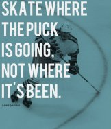 22. WAYNE GRETZKY might be an interesting symbol for seeking success despite one's obstacles by focusing on strengths.