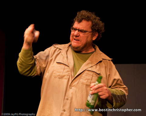 Bostin Christopher in He Said She Said by Lee Wochner October 2009