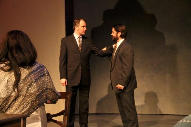 Daniel Billet and Aaron Wiseman in Betrayal at Perseverance Theatre 2013