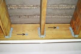 Bolted Deck Ledger