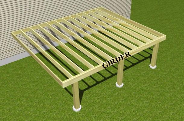 Girder Deck - 3D