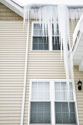 Second floor icicles