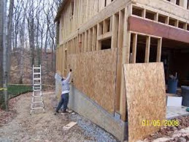 Stud walls and OSB