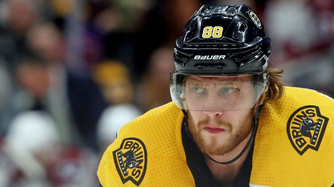 David Pastrnak 'Unfit To Participate' In Bruins Practice – CBS Boston